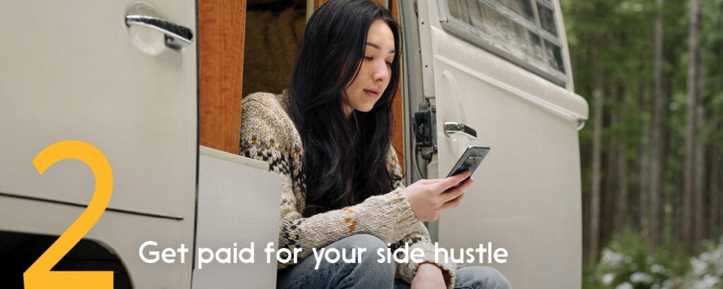 Interac e-Transfer lets you easily accept online money transfers for work and odd jobs.