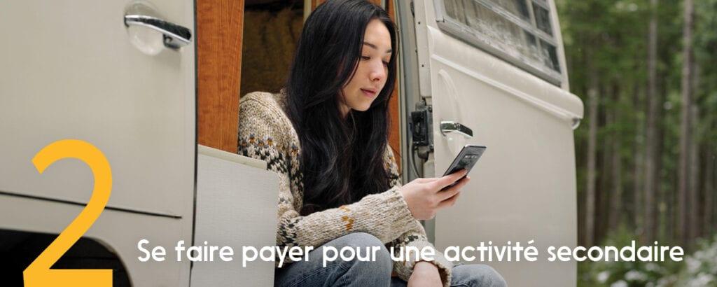 Avec Virement Interac, vous pouvez facilement accepter des envois d'argent en ligne pour le travail.
