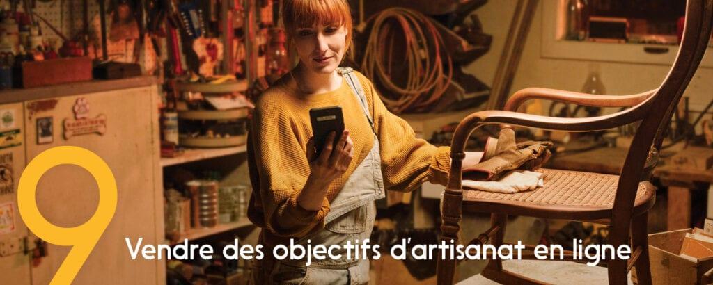 Les transactions numériques (comme la vente de biens en ligne) sont faciles avec Virement Interac.