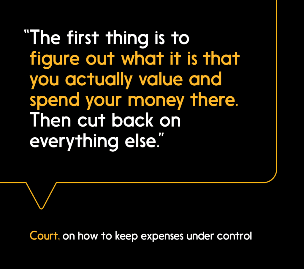 Manage your personal budget by focusing your spending on things that are truly important to you.